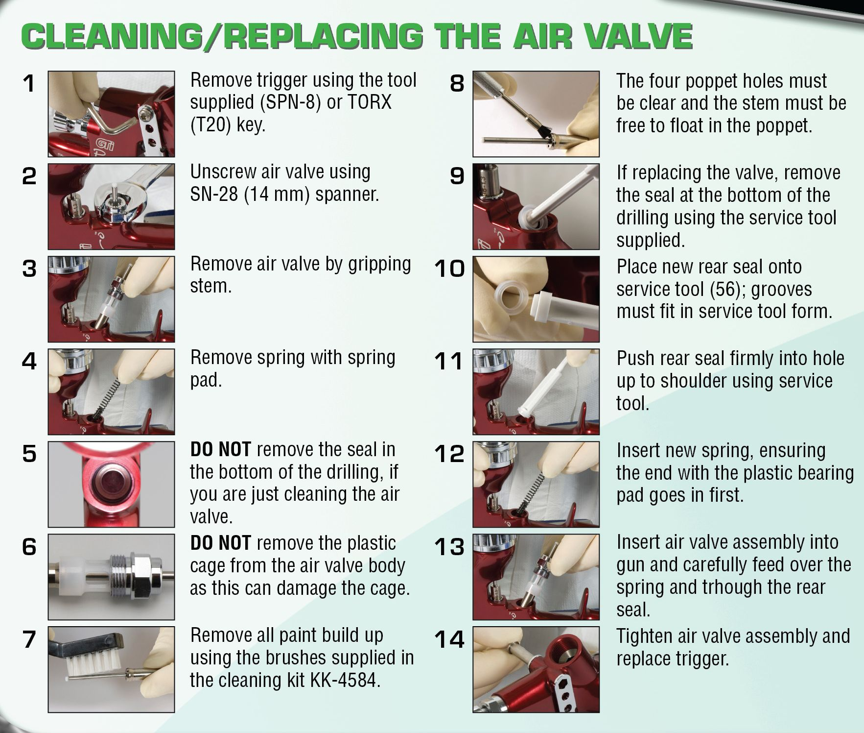 CleaningreplacingtheAirValve
