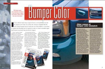 Ppg S Bumper Colour Matching Article Car Colour Services