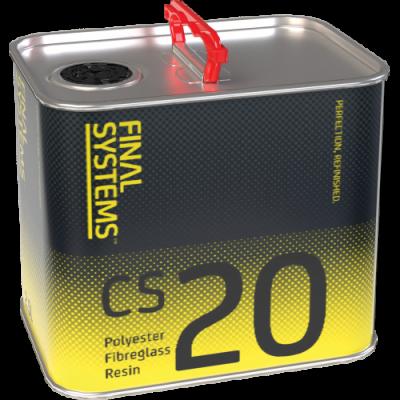 CS20 Polyester Fibreglass Resin & Catalyst