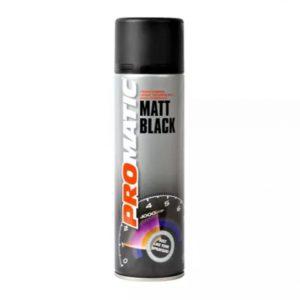 Promatic Matt Black Aerosol
