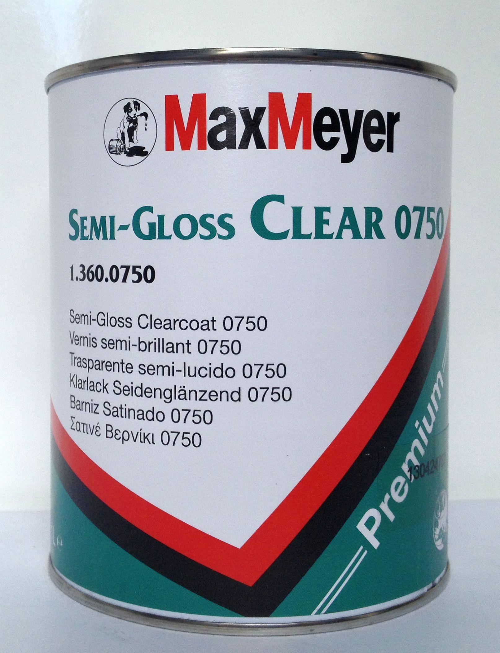 Max Meyer Semi-Gloss Clear 0750
