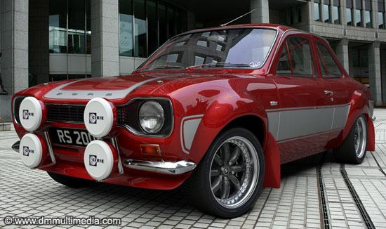 3D Car Modelling