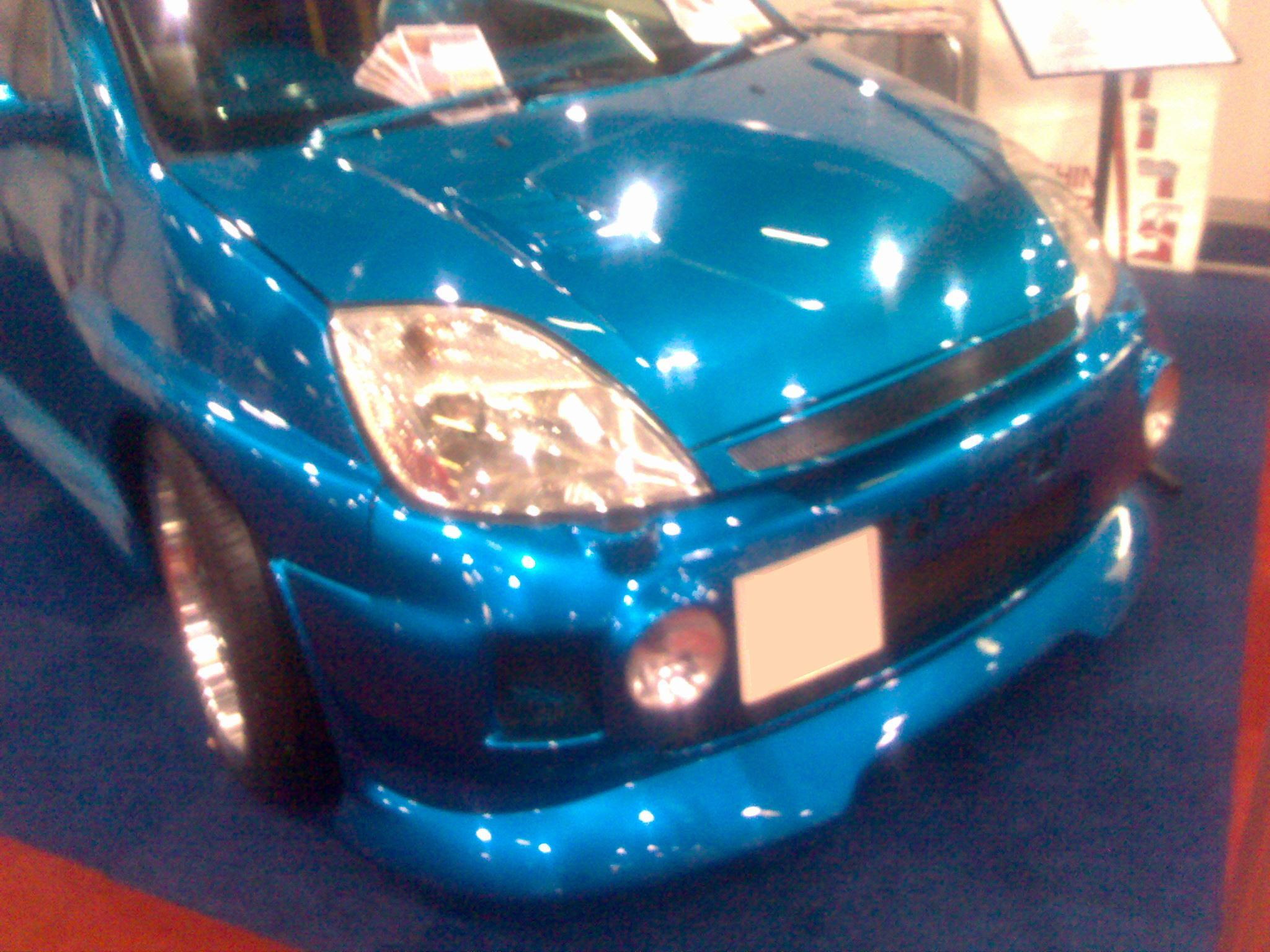 Car paint colour - Shop
