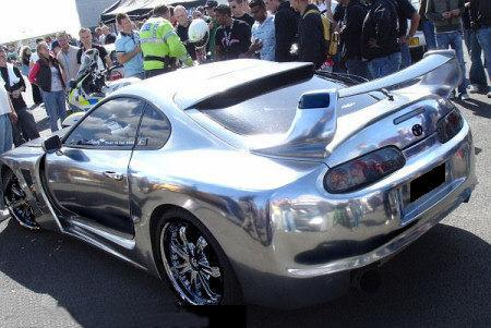 Chrome car colour services for Chrome paint price
