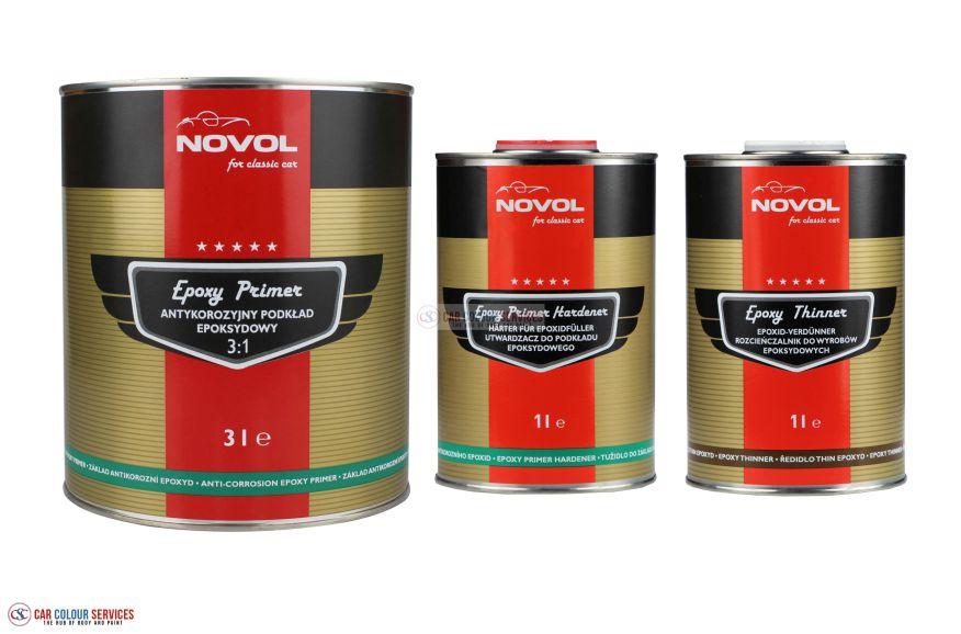 Novol for Classic Car EPOXY PRIMER 3:1 KIT - Anti-corrosion epoxy primer