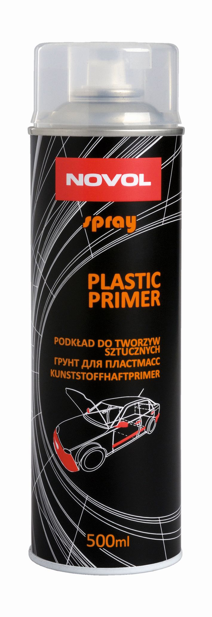 Novol Plastic Primer