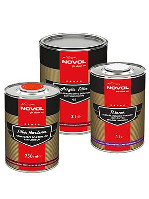 Novol for Classic Car Acrylic Filler