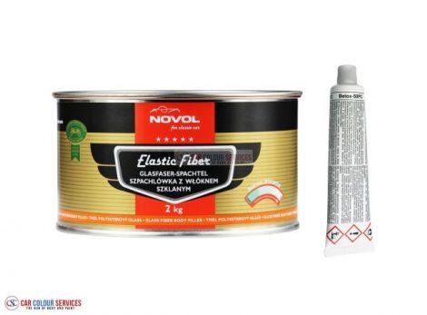 Novol for Classic Car Elastic Fibreglass Filler