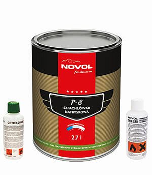 Novol for Classic Car Spray Filler