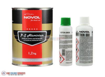 Novol for Classic Car Aluminium Spray Filler