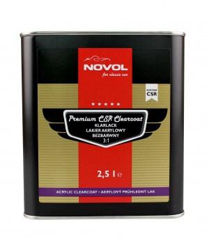 premium CSR clearcoat