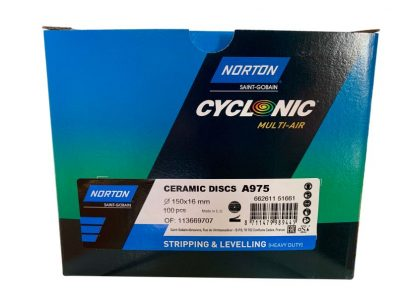 Norton Blue STRIPPING & LEVELLING (heavy duty) 150mm Discs (