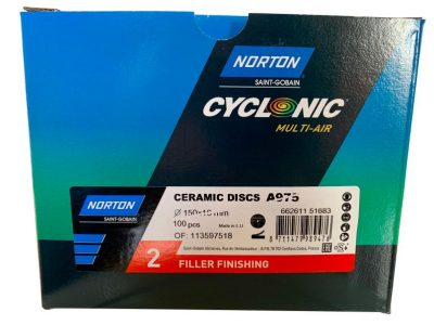 Norton Red FILLER FINISHING 150mm Discs (100)