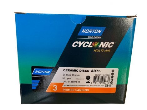 Norton Salmon PRIMER SANDING 150mm Discs (50)